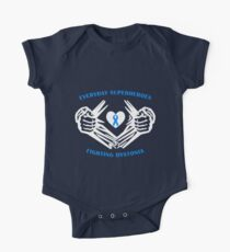 Dystonia Heroes Short Sleeve Baby One-Piece