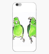 Green Birdie iPhone Case