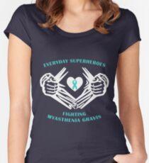 Myasthenia Gravis Heroes Women's Fitted Scoop T-Shirt