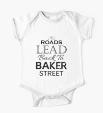 All Roads Lead Back To Baker Street Kids Clothes