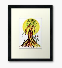 A Nourishing Touch Tee Framed Print