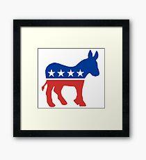 Democrat  Framed Print