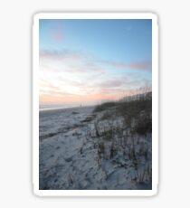 Sand Meets the Sea Sticker