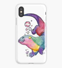 Rainbow Otter iPhone Case/Skin