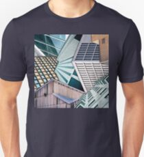 City Buildings Abstract T-Shirt