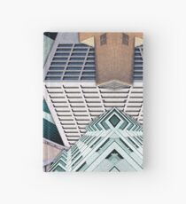 City Buildings Abstract Hardcover Journal