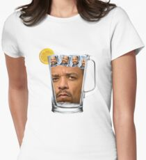 Ice(d) T(ea) with some Ice Cube(s) Womens Fitted T-Shirt