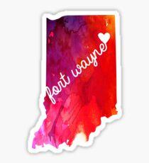 Fort Wayne Sticker
