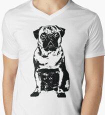 Black Dog Men's V-Neck T-Shirt