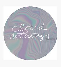 cloud nothings  Photographic Print