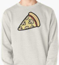 Mushroom Pizza Pattern Pullover Sweatshirt