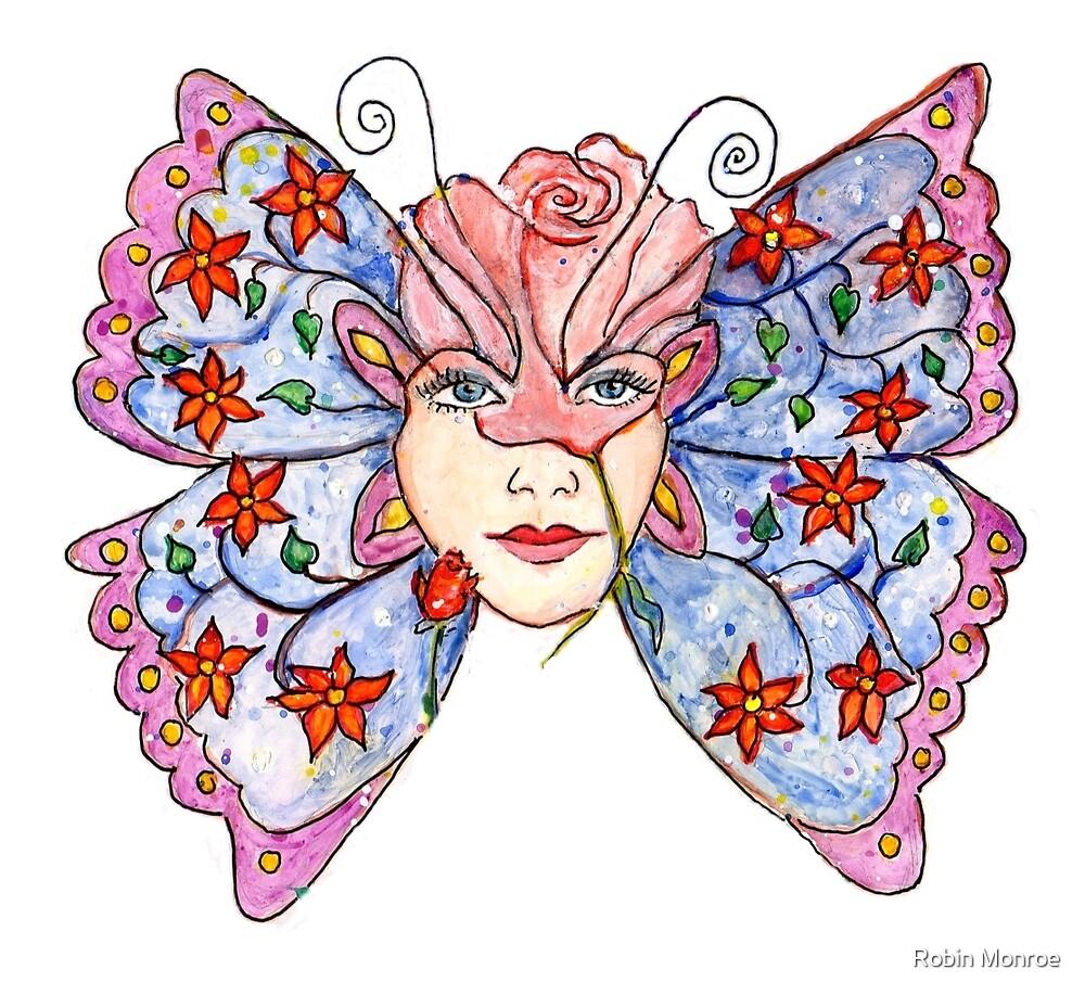 Butterfly Totem by Robin Monroe