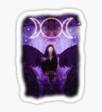 The Morrigan Sticker