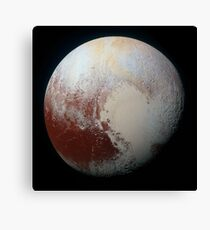 Pluto (Highest Resolution) Canvas Print