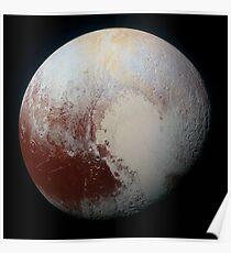 Pluto (Highest Resolution) Poster