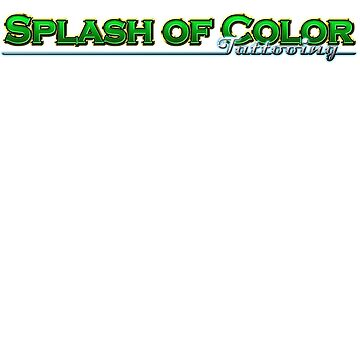 Splash of Color - Green by asplashofcolor