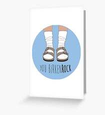 Birken-rock Greeting Card