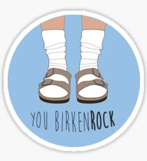Birken-rock Sticker