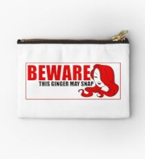 Beware This Ginger May Snap Studio Pouch