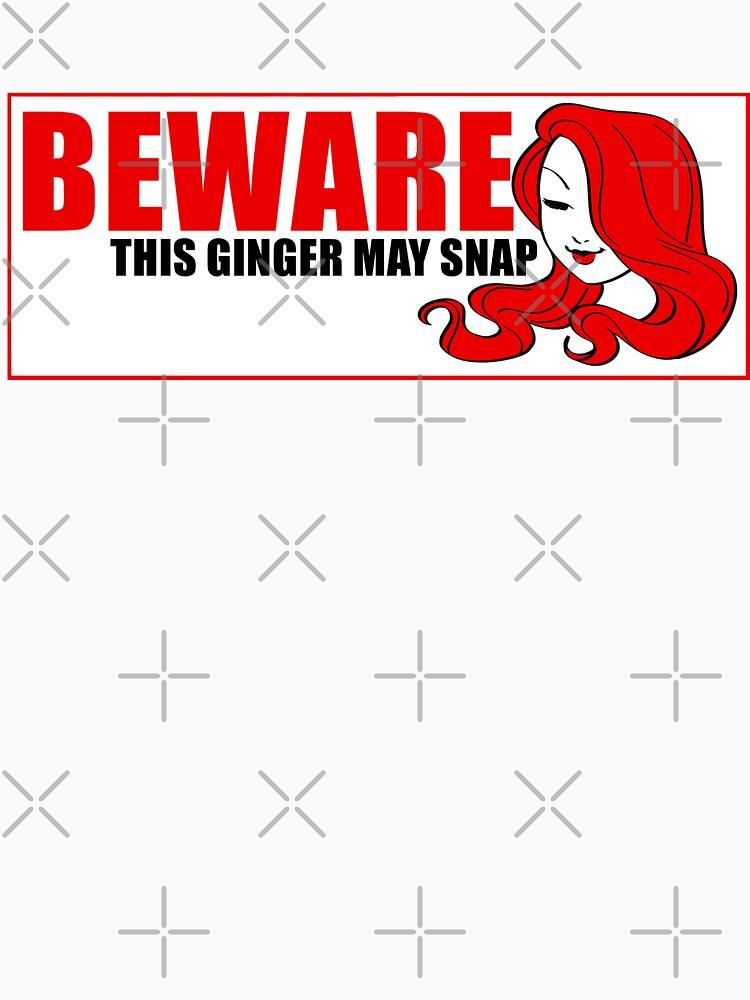 Beware This Ginger May Snap by Redhead-K