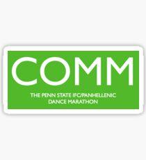 Communications Sticker
