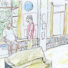 Arthur C. Clarke's Library, Colombo by John Douglas