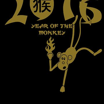2016 Year Of The Monkey by sandy89