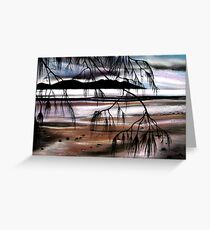 Colours of Dusk Greeting Card