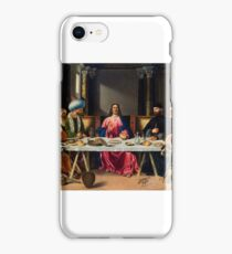 Vittore Carpaccio, The Supper at Emmaus, iPhone Case/Skin
