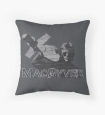 MacGyver Tee Throw Pillow