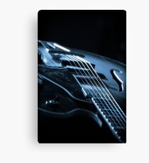Guitar Light Canvas Print