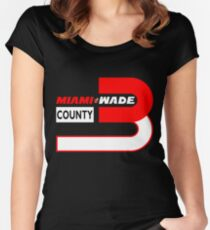 Miami Wade County Women's Fitted Scoop T-Shirt