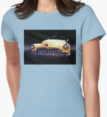 1950 Buick Roadmaster Womens Fitted T-Shirt