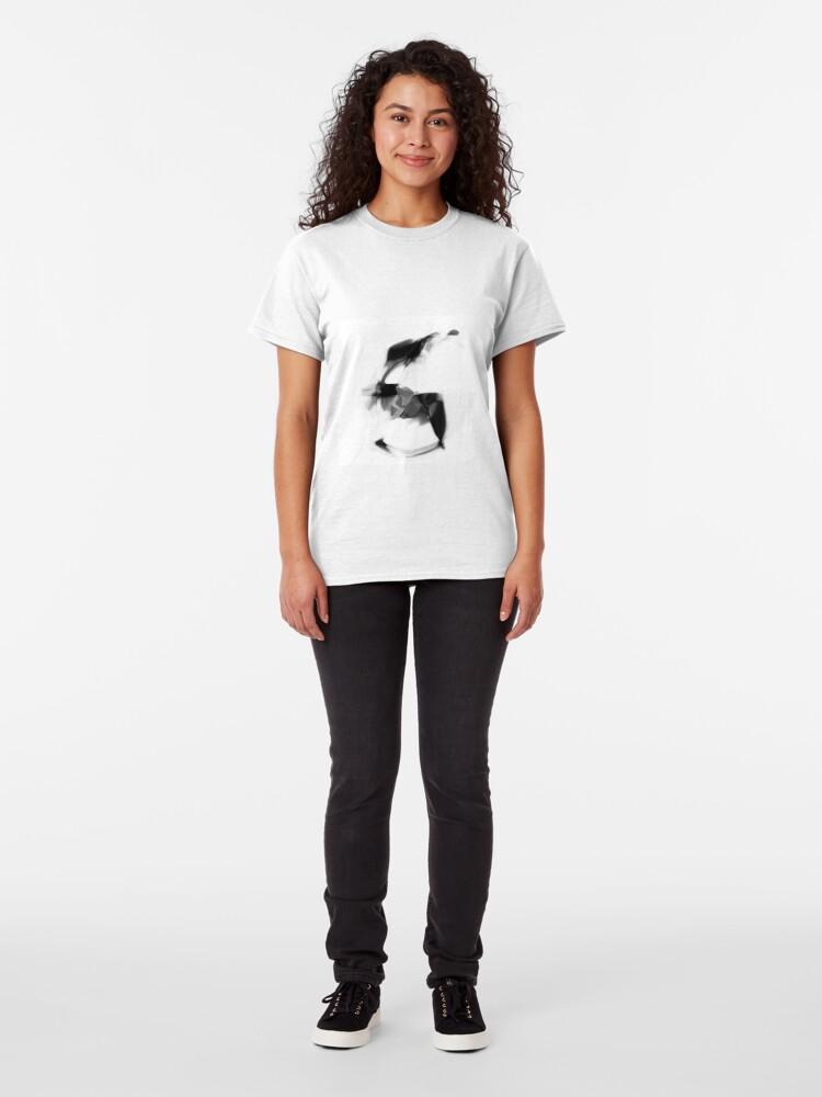 "Alternate view of MNIST ""FIVE"" Classic T-Shirt"