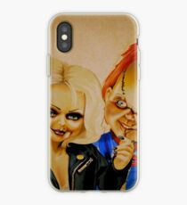 Chucky and his bride iPhone Case