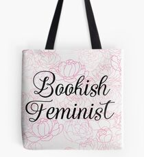 Bookish Feminist  Tote Bag