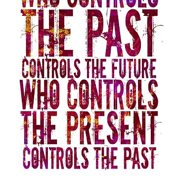 who controls the past ( Quote) by alphaville