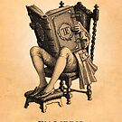 «Ex Libris & # 39; The Inveterate Reader & # 39;» de bibliotee