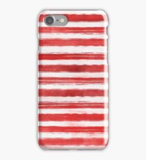 Red Stripes iPhone Case/Skin