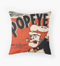 Popeye  Throw Pillow