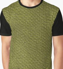 Crocodile Skin Graphic T-Shirt