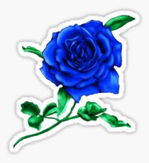 Blue Rose Sticker