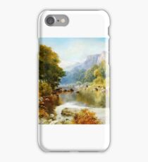 William Henry Mander - Reflections iPhone Case/Skin
