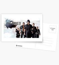 Final Fantasy XV Postcards