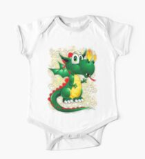 Baby Dragon Cute Cartoon  One Piece - Short Sleeve