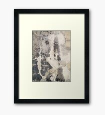 Woman and Man Framed Print