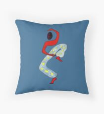 Tai Chi (totally free) Throw Pillow