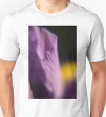 Purple Iris Macro Unisex T-Shirt
