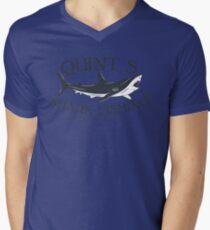 Quint's Shark Fishing Men's V-Neck T-Shirt