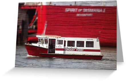 Another ferry across the Mersey by Glenn Bumford